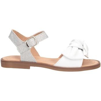 Schuhe Mädchen Sandalen / Sandaletten Dianetti Made In Italy I9738 Sandalen Kind WEISS WEISS