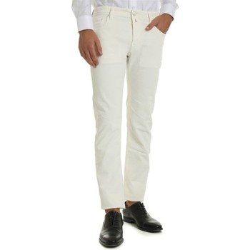 Kleidung Herren Slim Fit Jeans Jacob Cohen J688 COMF 122 Jeans Mann WEISS WEISS