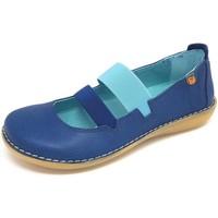 Schuhe Damen Ballerinas Diverse Slipper Pass sibi jeans 7366 sibi jeans blau