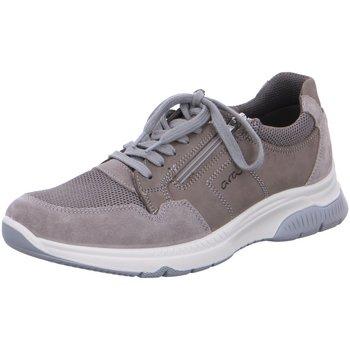 Schuhe Herren Sneaker Low Ara Schnuerschuhe 11-24640-15 grau
