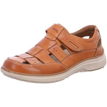 Schuhe Herren Richelieu Ara Slipper  Sandale 32147 braun
