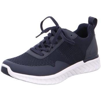 Schuhe Herren Sneaker Low Ara Schnuerschuhe  Sneaker 32147 blau