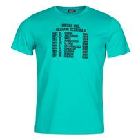 Kleidung Herren T-Shirts Diesel T-DIEGOS Blau
