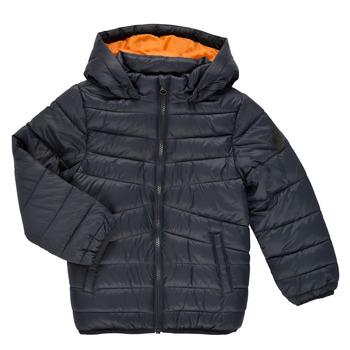 Kleidung Jungen Daunenjacken Name it NMMMOBI JACKET Marine