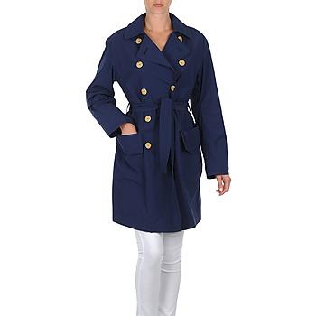 Kleidung Damen Trenchcoats Lola MALIN VENTO Marine