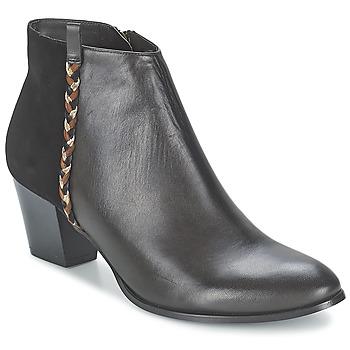 Schuhe Damen Low Boots Bocage MANNUELA Schwarz