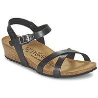 Schuhe Damen Sandalen / Sandaletten Papillio ALYSSA Schwarz