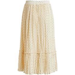 Kleidung Damen Röcke Vila  Blanco