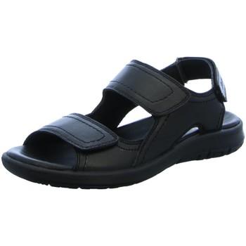 Schuhe Herren Sandalen / Sandaletten Sioux Offene Lutalo-701 schwarz