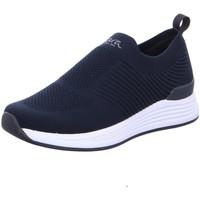 Schuhe Herren Slip on Ara Slipper SAN DIEGO 11-13604-02 blau