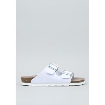 Schuhe Damen Pantoffel Senses & Shoes  Weiss