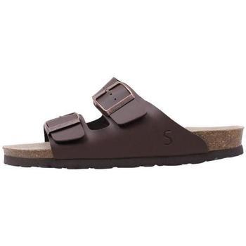 Schuhe Damen Pantoffel Senses & Shoes  Braun