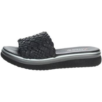 Schuhe Damen Pantoffel Repo 10100-E1 Schwarz