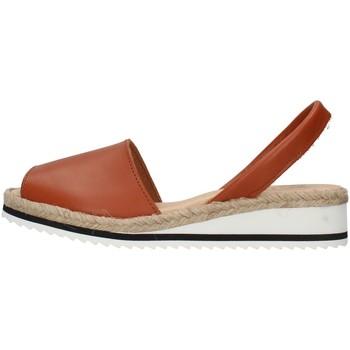 Schuhe Damen Sandalen / Sandaletten Ska 21CORFUNM BRAUN