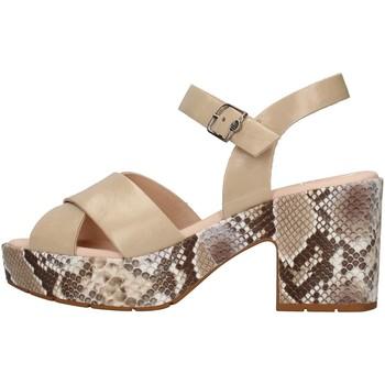 Schuhe Damen Sandalen / Sandaletten CallagHan 28800 BEIGE