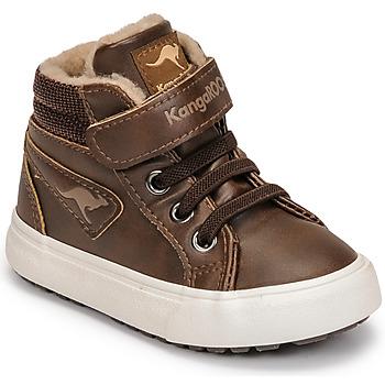 Schuhe Jungen Sneaker High Kangaroos KAVU III Braun
