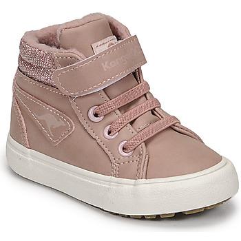 Schuhe Mädchen Sneaker High Kangaroos KAVU III Rose