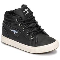 Schuhe Jungen Sneaker High Kangaroos KAVU I Schwarz