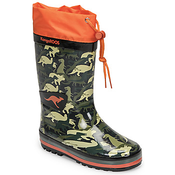 Schuhe Jungen Gummistiefel Kangaroos K-RAIN Kaki