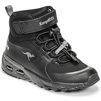 Schuhe Jungen Sneaker High Kangaroos KX-HYDRO Schwarz