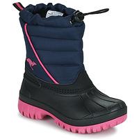 Schuhe Mädchen Schneestiefel Kangaroos K-BEN Blau / Rose