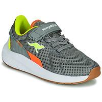 Schuhe Jungen Sneaker Low Kangaroos K-FORT JAG EV Grau