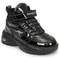 Schuhe Mädchen Sneaker High Kangaroos KC-ICY EV RTX Schwarz