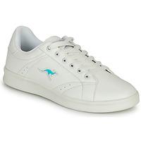 Schuhe Damen Sneaker Low Kangaroos K-TEN II Weiss