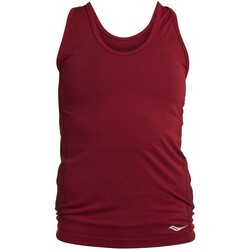 Kleidung Damen Tops Saucony SAW800099 Dunkelrot
