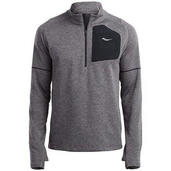 Kleidung Herren Sweatshirts Saucony Runstrong Thermal Sportop Grau