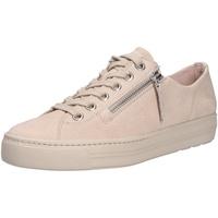 Schuhe Damen Sneaker Low Paul Green Damen Sneaker beige
