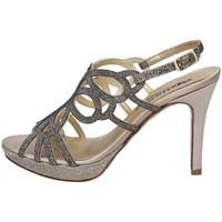 Schuhe Damen Sandalen / Sandaletten Melluso HJ474N SILBER