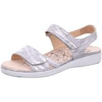 Schuhe Damen Sandalen / Sandaletten Ganter Sandaletten Gina 20/0123-6700 silber