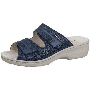 Schuhe Damen Pantoffel Fidelio Pantoletten Hedi 000000023601949 blau