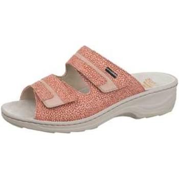 Schuhe Damen Pantoffel Fidelio Pantoletten Hedi Powder 236019 06 rosa