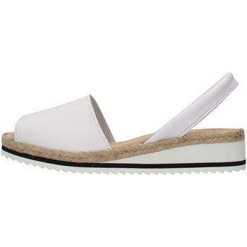 Schuhe Damen Sandalen / Sandaletten Ska 21CORFUNM WEISS