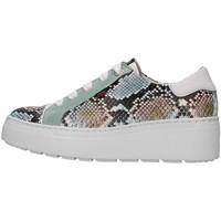Schuhe Damen Sneaker Low CallagHan 14928 WEISS