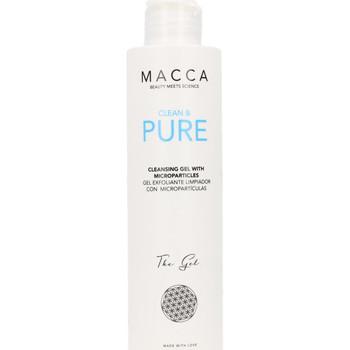 Beauty Serum, Masken & Kuren Macca Clean & Pure Cleansing Gel With Microparticles  200 ml