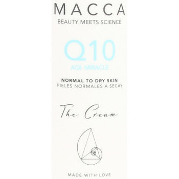 Beauty Anti-Aging & Anti-Falten Produkte Macca Q10 Age Miracle Cream Normal To Dry Skin  50 ml