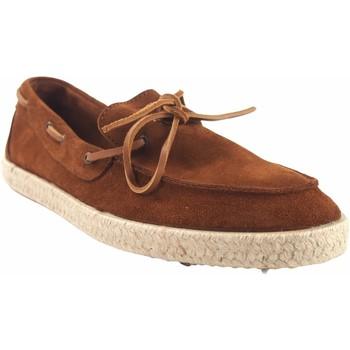 Schuhe Herren Multisportschuhe Calzamur 10071 Leder Braun