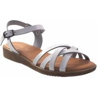 Schuhe Damen Sandalen / Sandaletten Duendy 3265 weiß Weiss