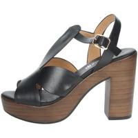 Schuhe Damen Sandalen / Sandaletten Repo 56247-E1 Schwarz