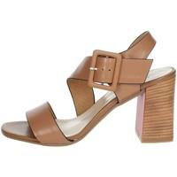 Schuhe Damen Sandalen / Sandaletten Repo 31634-E1 Braun Leder