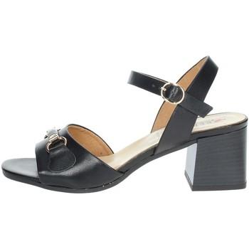 Schuhe Damen Sandalen / Sandaletten Repo 30628-E1 Schwarz