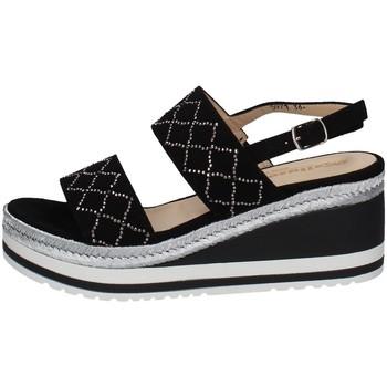 Schuhe Damen Sandalen / Sandaletten Melluso HR70737 SCHWARZ