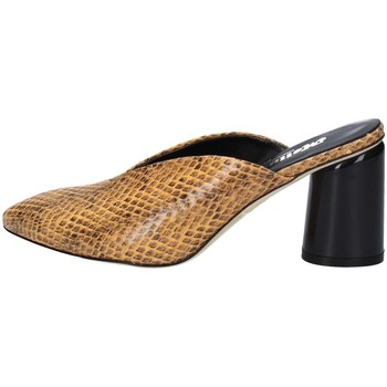 Schuhe Damen Sandalen / Sandaletten Melluso D142 OCKER