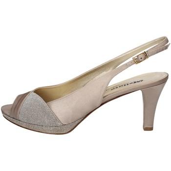 Schuhe Damen Sandalen / Sandaletten Melluso HJ405S PLATIN
