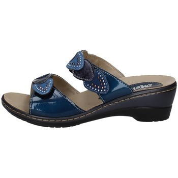 Schuhe Damen Sandalen / Sandaletten Melluso H02966 BLAU