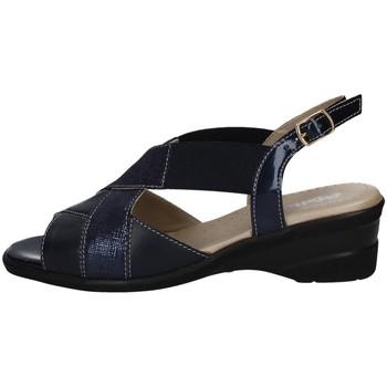 Schuhe Damen Sandalen / Sandaletten Melluso H08014 BLAU