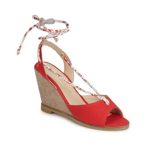 Petite Mendigote BLONDIE Rot  Schuhe Sandalen / Sandaletten Damen 87,50
